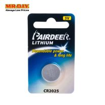 PAIRDEER Lithium Cell Battery CR2025