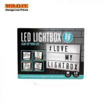 MR DIY LED Message Light Box