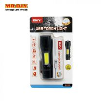 MR DIY USB Rechargeable Torch Light BL-513