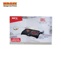 MR DIY Electric Grill And Flat Cooking Plate BBQ1003-CB