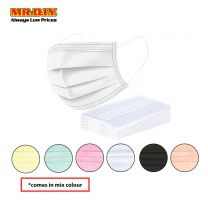 MR.DIY Disposable 3-Layer Filter Colour  Face Mask (10pcs)