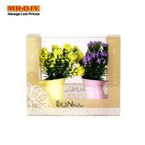 MR.DIY SunShine Artificial Flowers Plant Mini Potted (2pcs)
