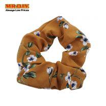 MR.DIY Premium Buttercup Flower Design Scrunchies Hair Band