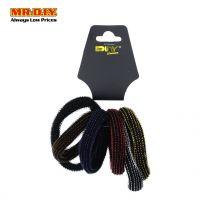 MR.DIY Colourful Elastic Hair Band 6 Pcs