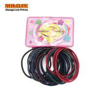 MR.DIY Single Rope Design Rubber Hairband (24pcs)