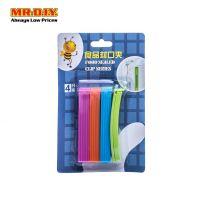MR.DIY Multi-Colour Food Sealing Clips (4pcs)