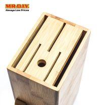 MR.DIY Bamboo Knife Holder Stand Storage (1pc)
