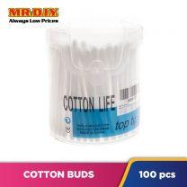 COTTON LIFE 100% Cotton Buds (100 pcs)