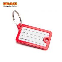 MR.DIY Multi-Colour Name Key Tag Keychain (12pcs)