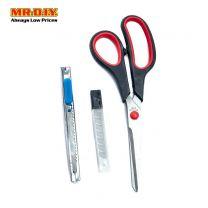 DongBiaoWuJin Scissors & Box Cutter Set