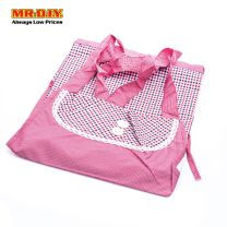 Check Design Double Pocket Apron