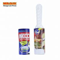 NECO 2 in 1 Cleaning Roller Sticker Set with Roller Sticker Refill (30cm x 10cm)