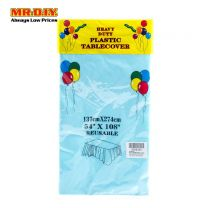 Heavy Duty Plastic Tablecover (137x274cm)