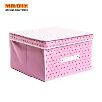 SUNEE Foldable Non-Woven Storage Box with Lid 70417