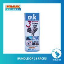 MR.DIY OK Original 3 Seconds Super Glue (13g)
