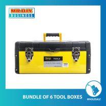 JINFENG Metal Tool Box (Yellow)