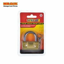 STELAR Brass Block Padlock 50mm