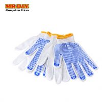 MR.DIY Gloves With Blue Dots (2 Pairs)