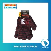 MR.DIY Red Cotton Gloves 800G (2 Pairs) (bundle of 18 or 90 pack)