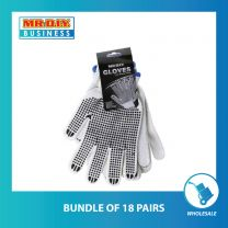 MR.DIY Gloves With Black Dots (2 Pairs)