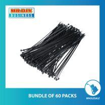 BOYANG Nylon Cable Tie Black (500 x 20cm)