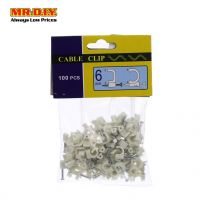 Cable Clip 6mm (100 pcs)