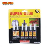 MR.DIY Super Glue  (6pcs x 3g)