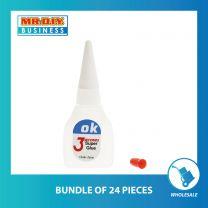 3RING OK 3 Seconds  Original  Super Glue
