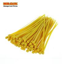 MR.DIY Yellow Cable Tie 4*150mm (100 pcs)