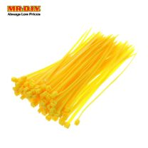 MR.DIY Yellow Cable Tie 4*200mm (100 pcs)