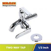 MR.DIY Stainless-Steel 2-Way Bib Tap (1.5cm)