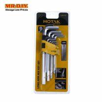 HOTAK Long Arm Hex Key Set (9pcs)