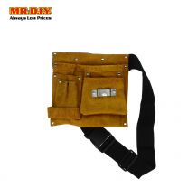 Leather Hardware Tools Pouch Bag