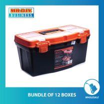 "TACTIX Plastic Tool Box (50cm/19'"")"