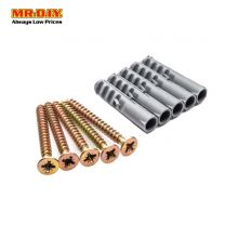 MR.DIY Screws & Plugs (5pc)
