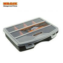 TACTIX Plastic Compartment Storage Box Case (19cm x 15cm)
