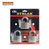 STELAR Security Padlock 50mm (3pcs) BH503