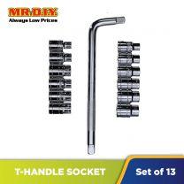 MR.DIY Socket T-Handle Wrench Set (13 pcs)