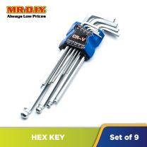Mr DIY Hex Key Set (CR-V) (9pc)