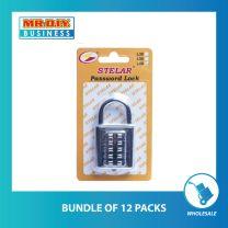 STELAR Push Button Combination Padlock (L40)