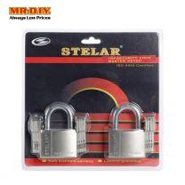 STELAR Security Padlock 50mm (2pcs) STBH502