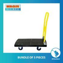Foldable PVC Platform Hand Truck Trolley (90cm x 72cm)