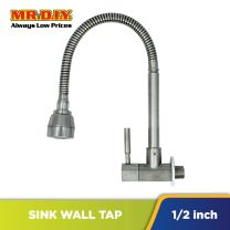 AGASS Stainless Steel Wall Sink Tap