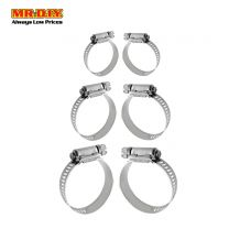 JINFENG Multi-size Hose Clamp (6pcs)