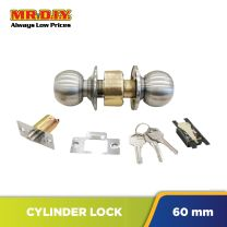 FIGHTER Cylinder Entrance Lock Set Grey (60mm)