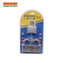 AGASS Security Padlock 50mm 3PCS