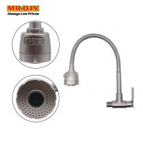 AGASS Stainless-Steel Flexible Sink Wall Tap 89002