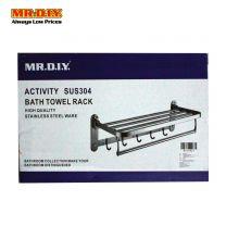 MR DIY SUS304 Stainless Steel Bathroom Towel Rack 89019
