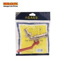 "MR.DIY  89244  Copper Bib Tap 1/2"" (Red handle)"