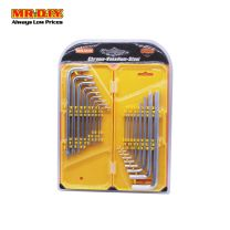 MR DIY 60076 Hexagon Key Wrench Set(18Pcs)